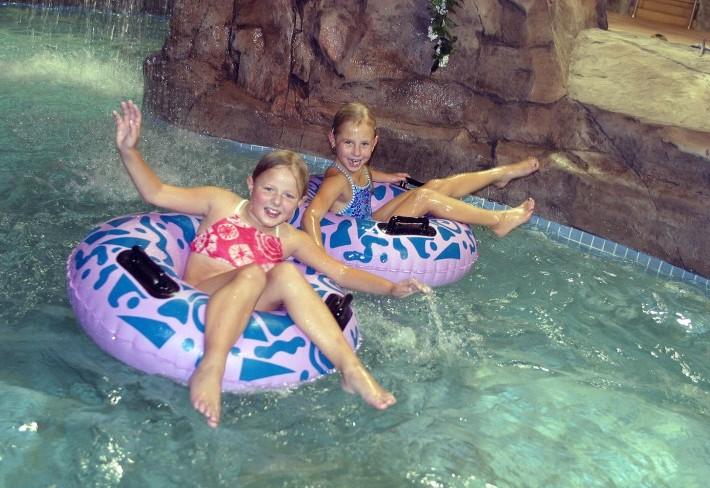 Children in Waterpark